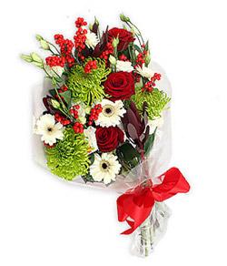 Karisik mevsim buketi çiçek tanzimi  Adıyaman internetten çiçek siparişi