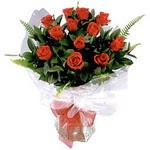 Adıyaman çiçek , çiçekçi , çiçekçilik  9 adet güzel bir gül buketi