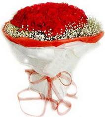 Adıyaman çiçekçiler  41 adet kirmizi gül buketi