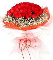 Adıyaman hediye sevgilime hediye çiçek  21 adet askin kirmizi gül buketi
