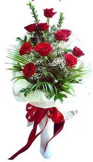 Adıyaman ucuz çiçek gönder  10 adet kirmizi gül buketi demeti