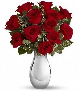 Adıyaman çiçek siparişi vermek   vazo içerisinde 11 adet kırmızı gül tanzimi