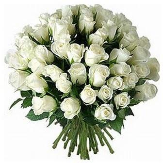 Adıyaman çiçek servisi , çiçekçi adresleri  33 adet beyaz gül buketi