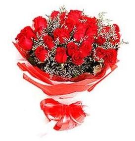 Adıyaman çiçek mağazası , çiçekçi adresleri  12 adet kırmızı güllerden görsel buket