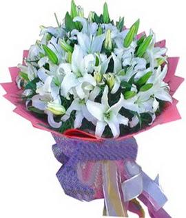7 dal cazablanca görsel buketi  Adıyaman çiçekçi mağazası