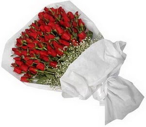 Adıyaman İnternetten çiçek siparişi  51 adet kırmızı gül buket çiçeği