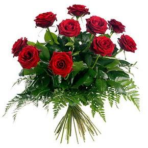 Adıyaman çiçek gönderme  10 adet kırmızı gülden buket