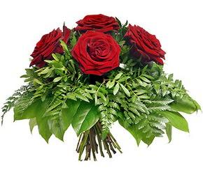 Adıyaman çiçek mağazası , çiçekçi adresleri  5 adet kırmızı gülden buket