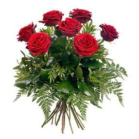 Adıyaman online çiçek gönderme sipariş  7 adet kırmızı gülden buket