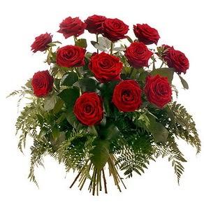 Adıyaman internetten çiçek satışı  15 adet kırmızı gülden buket