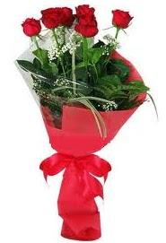 Çiçek yolla sitesinden 7 adet kırmızı gül  Adıyaman internetten çiçek satışı