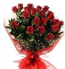 İlginç Hediye 21 Adet kırmızı gül  Adıyaman internetten çiçek siparişi