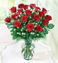 Adıyaman internetten çiçek satışı  9 adet mika yada vazoda kirmizi güller