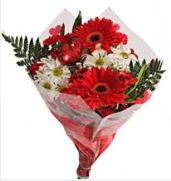Mevsim çiçeklerinden görsel buket  Adıyaman çiçekçiler