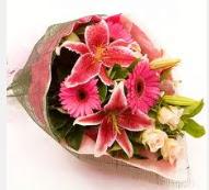 1 dal kazablanka ve mevsim çiçekleri  Adıyaman internetten çiçek siparişi