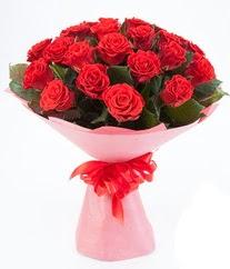 15 adet kırmızı gülden buket tanzimi  Adıyaman çiçek siparişi sitesi