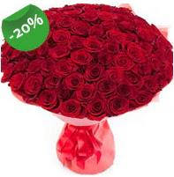 Özel mi Özel buket 101 adet kırmızı gül  Adıyaman anneler günü çiçek yolla