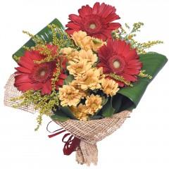 karışık mevsim buketi  Adıyaman çiçekçi mağazası