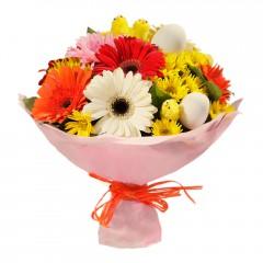Karışık mevsim buketi Mevsimsel çiçek  Adıyaman internetten çiçek siparişi