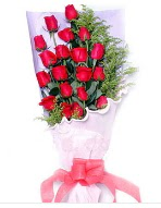 19 adet kırmızı gül buketi  Adıyaman uluslararası çiçek gönderme