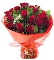 12 adet görsel bir buket tanzimi  Adıyaman çiçek siparişi vermek