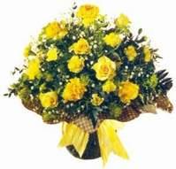 Adıyaman çiçek , çiçekçi , çiçekçilik  Sari gül karanfil ve kir çiçekleri