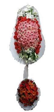 çift katlı düğün açılış sepeti  Adıyaman internetten çiçek satışı