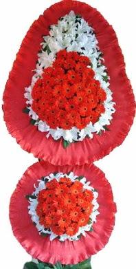 Adıyaman online çiçek gönderme sipariş  Çift katlı kaliteli düğün açılış sepeti