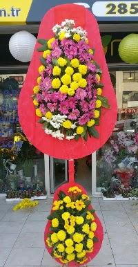 Çift katlı düğün nikah açılış çiçek modeli  Adıyaman online çiçek gönderme sipariş