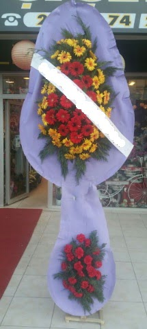 Çift katlı nikah düğüne çiçek modeli  Adıyaman internetten çiçek siparişi