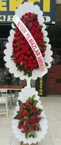Çift katlı düğün nikah çiçeği modeli  Adıyaman hediye çiçek yolla