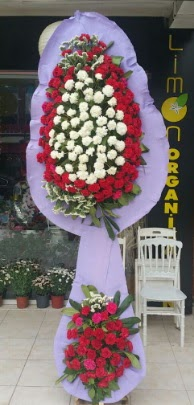 Çift katlı işyeri açılış çiçek modeli  Adıyaman ucuz çiçek gönder
