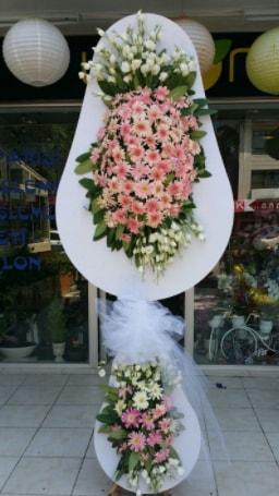 Çift katlı özel şahane sepet çiçeği  Adıyaman çiçekçi telefonları