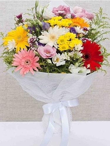 Karışık Mevsim Buketleri  Adıyaman ucuz çiçek gönder