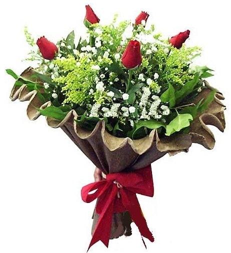 5 adet gülden buket  Adıyaman çiçek gönderme sitemiz güvenlidir