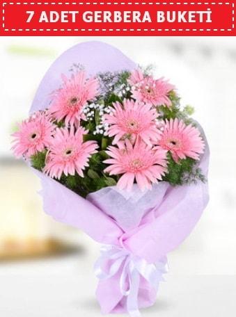 Pembe Gerbera Buketi  Adıyaman çiçek , çiçekçi , çiçekçilik