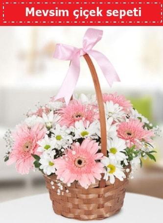 Mevsim kır çiçek sepeti  Adıyaman çiçek , çiçekçi , çiçekçilik